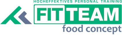 Fit Team Food Concept Logo 15cm